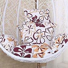 DULPLAY Hanging egg Swing Chair cushions, For