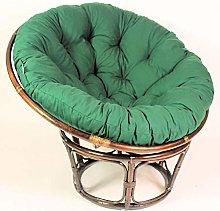 DULPLAY Papasan Egg Seat Cushions,Outdoor Chair