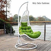 DULPLAY Swing Hanging Basket Seat Cushion, Thicken