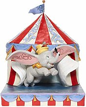 Dumbo Over the Big Top Circus out of Tent Figurine