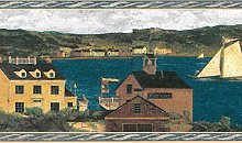 Dundee Deco BD6023 Prepasted Wallpaper Border -