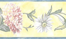 Dundee Deco BD6139 Prepasted Wallpaper Border -