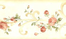 Dundee Deco BD6266 Prepasted Wallpaper Border -