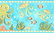 Dundee Deco BD6276 Prepasted Wallpaper Border -