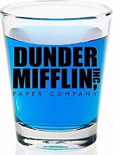 Dunder Mifflin Shot Glass - The Office Gifts - for