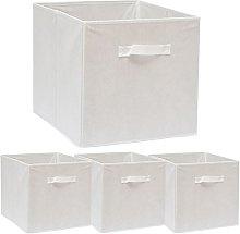 DuneDesign Set 4 Storage Boxes open storage bin