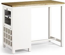 Dunes Combined Furniture Bar with WIne Storage