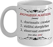Dungeon Master Coffee Mug Dungeons and Dragons