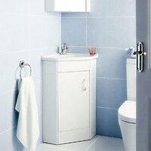 Dunn 555 mm 1 Door Corner Vanity Cabinet