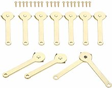 DUO ER 10Pcs 68mm Support Hinges Box Display