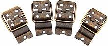 DUO ER 4Pcs Furniture Hardware Antique Bronze