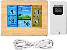 Duokon LCD Digital Wireless Weather Station Clock
