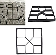 duoying Paving Mold Road Mould Creative Garden