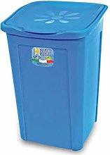 DUPLAST Laundry Basket, Daisy Design, Orange, 50