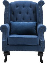 Duprey Wingback Chair Marlow Home Co. Upholstery