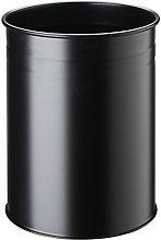 Durable 15L Metal Round Waste Basket -
