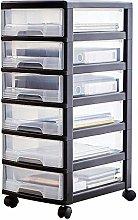 Durable Drawer Storage Cart 6 Drawer Type File