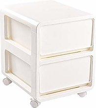 Durable Drawer Storage Cart Plastic File Storage