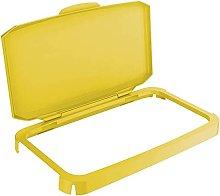 Durable Durabin Hinged Lid - Yellow
