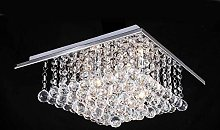 Durable Exquisite Square Crystal Chandelier,