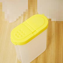 Durable Plastic Kitchen Seasoning Container Jar