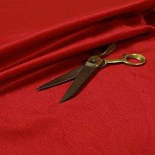 Durable Quality Red Colour Plain Soft Velour Faux
