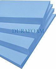 DURAFOAM Firm Blue Upholstery Foam - 4 pieces