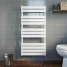 DuraTherm Flat Panel Heated Towel Rail White -