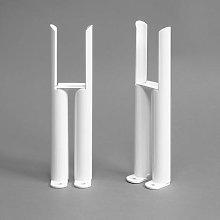 DuraTherm White Legs for Traditional Radiator -
