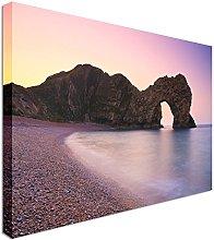 Durdle Door in Dorset Canvas Art Cheap Wall Print