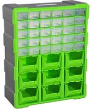 DURHAND 39 Drawer Storage Cabinets, 38Lx16Dx47.5H