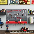 DURHAND 54 Pcs On-Wall Tool Organizer Wall