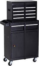 DURHAND Metal Tool Chest Cabinet Garage Mechanics