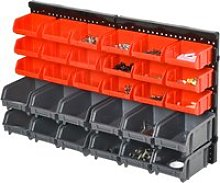 DURHAND PP Wall Mounted 30-Compartment Tool