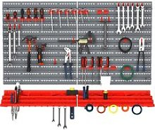 DURHAND PP Wall Mounted Garage Tool Organiser Unit