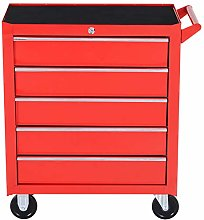 DURHAND Professional 5 Drawer Roller Tool Cabinet
