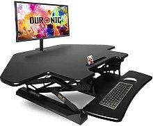 Duronic Corner Sit-Stand Desk DM05D5 | Height