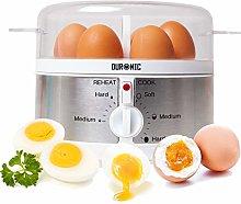 Duronic EB35 Electric 7 Egg Boiler Steamer Cooker