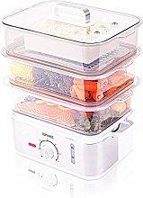 Duronic Food Steamer FS87 | 10.6 Litre | 3 Tier