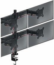 Duronic Quad Monitor Arm Stand DM254 | Multi PC