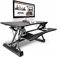 Duronic (Renewed) DM05D2 Sit-Stand Desk Height