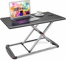 Duronic Sit-Stand Desk DM05D11 BK [BLACK] | Height