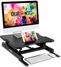 Duronic Sit-Stand Desk DM05D18 | Height Adjustable