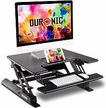 Duronic Sit-Stand Desk DM05D19 | Height Adjustable