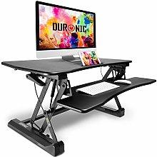 Duronic Sit-Stand Desk DM05D2 | Height Adjustable