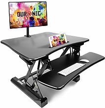 Duronic Sit-Stand Desk DM05D3 | Height Adjustable