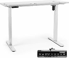 Duronic Sit Stand Desk Frame TM12 WE | Electric