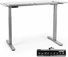 Duronic Sit Stand Desk Frame TM22 GY | Electric