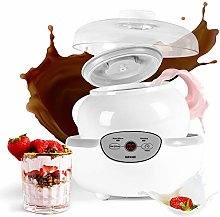 Duronic Yoghurt Maker YM1 | Yogurt Machine with