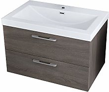 Durovin Bathrooms Wall Mounted Vanity Unit With